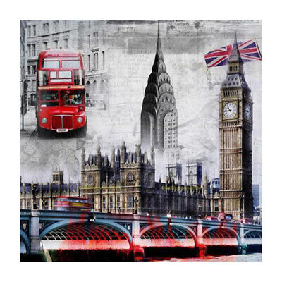 London DIY 5D Diamond Painting Diamant Stickerei Malerei Bilder Stickpackung DE