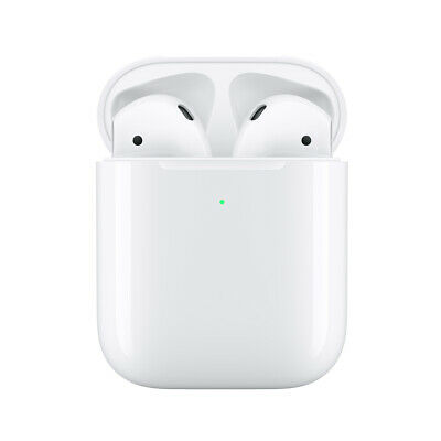 Apple AirPods  with Wired Charging Case 2nd Gen - White