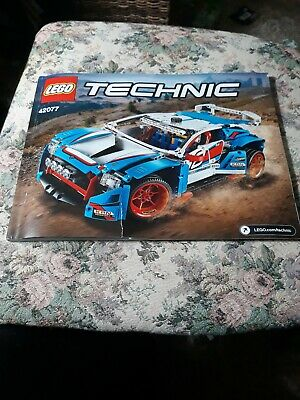 ~~LEGO TECHNIC 42077 RALLY CAR INSTRUCTION MANUAL ONLY
