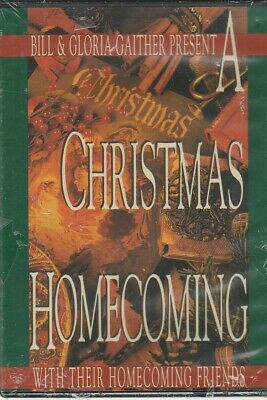 A Christmas Homecoming (DVD) Bill and Gloria Gaither and Friends Sealed