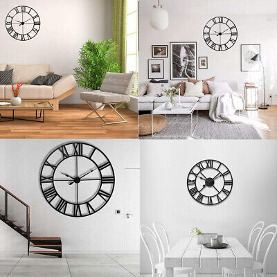 Nordic Style Metal Wall Clock Art Wall Clock Living Room Home/Office Wall Decor