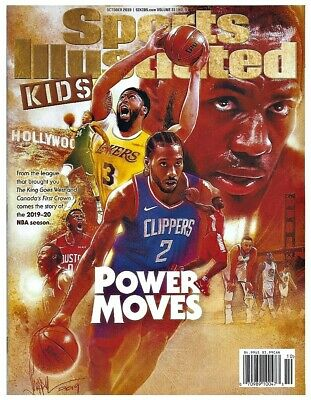Sports Illustrated Kids Magazine October 2019 Power Moves