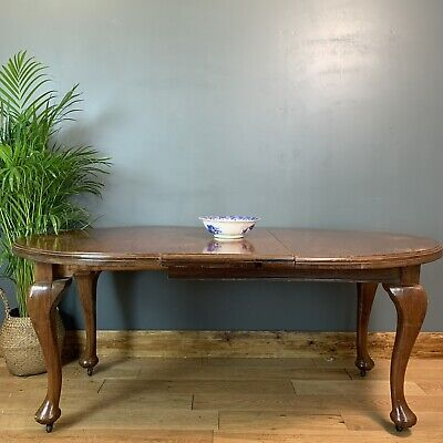 Antique Large mahogany table Victorian Dining Kitchen Rustic Table
