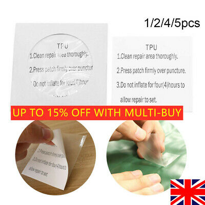 2X Self-Adhesive Repair Patches Stickers Nylon Mending Down Tent Jacket Washable