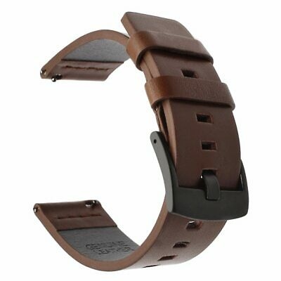 Leather Watchband Quick Release Watch Band Wrist Strap 18mm 20mm 22mm 24mm Long