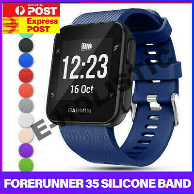 Replacement Wrist Strap Silicone Bracelet Band For Garmin Forerunner 35 Watch AU