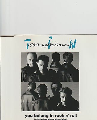 BOWIE/TIN MACHINE-You Belong In Rock n' Roll Limited cd single