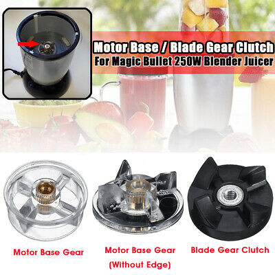 Replacement Motor Base Blade Gear Clutch For Magic Bullet Blender Juicer 250W ]