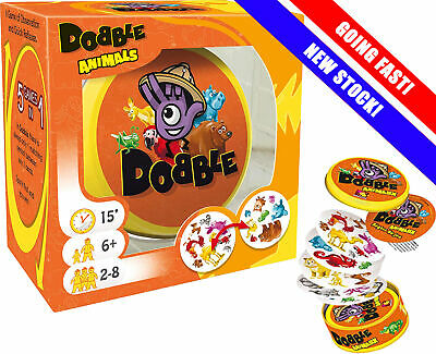 Dobble Animals | Dobble Card Game | Spot It | Best Selling Card Game | Asmodee