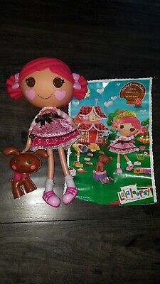 Lalaloopsy Mini Doll TOFFEE COCOA CUDDLES NEW IN BOX RETIRED /& HARD TO FIND