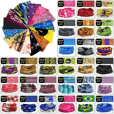NEW Face Mask Sun Shield Neck Gaiter Balaclava Neckerchief Bandana Headband 30+