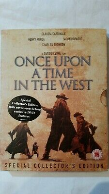 Once Upon A Time In The West (DVD, 2003, 2-Disc Set) special edition