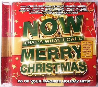 NOW THAT'S WHAT I CALL MERRY CHRISTMAS (CD) >SEALED< Various Artists
