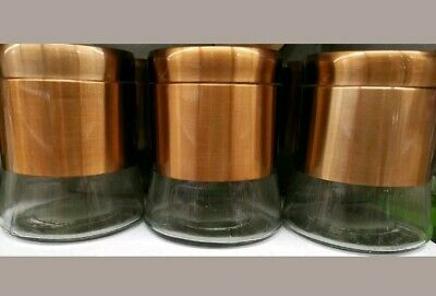 Tea Coffee Sugar Canisters Jar Kitchen Storage Containers