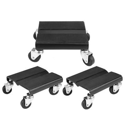 3Pack Tire Car Dolly Auto Repair Snowmobile Moving Dollies Set 1500lbs Capcity