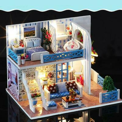 Helen Bian SURPRISE DOLL HOUSE Made with REAL WOOD SURPRISES Gifts for Kids