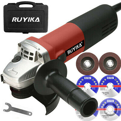 """Heavy Duty 900W 115mm Electric Angle Grinder Cutting Grinding Discs Sander 4.5"""""""
