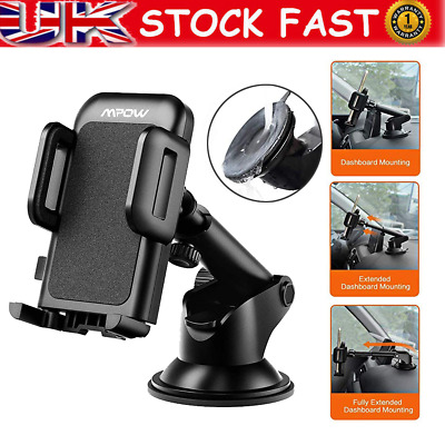 Mpow Universal Car Windscreen Dashboard Holder Mount For GPS PDA Mobile Phone UK