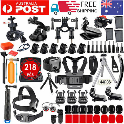 218 Accessories Pack Case Chest Head Floating Monopod GoPro Hero 7 6 5 4 3+ 2