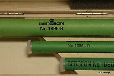 Bergeon Assortment of Smoothing Broaches 1896 - 30075