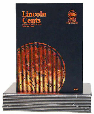 New Whitman Album LINCOLN PENNY vol#3 CENTS 1975 TO 2013 Coin Folder Book #9033