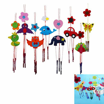 2x DIY Campanula Wind Chime Kids Manual Arts and Crafts Toys for Kids fuS ZSHWD