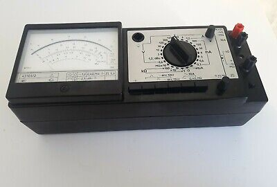 Vintage multimeter made in the ussr Ts43103 / 2 voltmeter apermeter ohmmeter