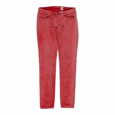 Unionbay Girls  Pants size JR 3,  red,  cotton, spandex, corduroy