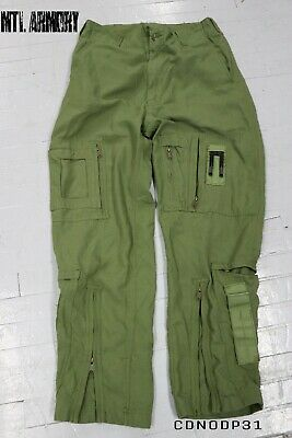Canadian Forces Pilot Flight Pants Size 7336 Canada Army Military