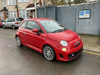 2014 14 Abarth 500 Stolen Recovered Damaged Repairable Salvage 28K Drive Away