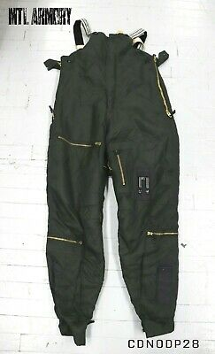 Canadian Forces Green Flyers Bib Pants Size 7040 Air Force Canada Army Military