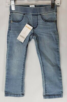 Gymboree Baby Toddler Girls Stretch Pull-on Jeans NEW NWT 8969