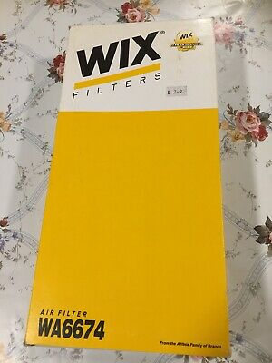 NEW Genuine WIX Replacement Air Filter WA6699