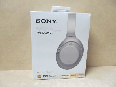 Sony Over-Ear Noise Cancelling Headphones (WH1000XM3/S) - Silver