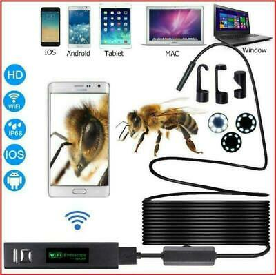 WiFi Inspection Endoscope For iPhone/Android/PC Multifunction Pipe Car HD Camera