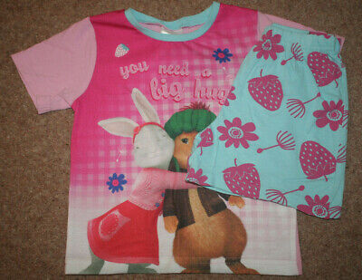Short pyjamas by Beatrix Potter. Peter Rabbit. Age 2-3 yrs. PRE-LOVED
