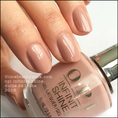 OPI INFINITE SHINE 2.0 DULCE DE LECHE ISL A15 Nail Polish New & Freepost AUST