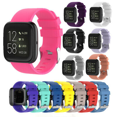 For Fitbit Versa 1 2 Lite Watch Band Silicone Sport Band Wristband Watch Strap