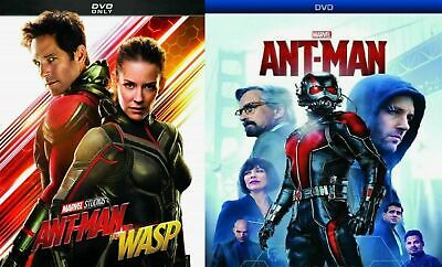 Ant-Man 1 + Ant-Man 2 and the Wasp - DVD Set/Pack - New! Free Shipping!