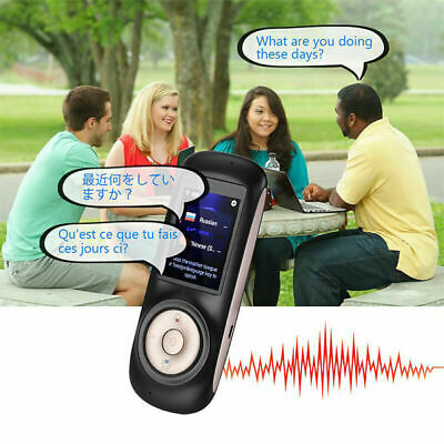Smart 2.4inch Instant Voice Language Translator Device Two Way WiFi Touch Screen