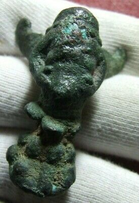 Antique Roman or ancient Rare Creature with wings bronze figure to identify
