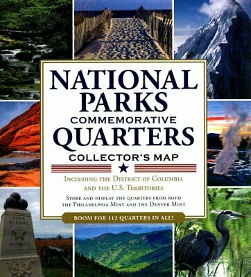 America the Beautiful: National Parks Quarters Collector's Map ... 9781441312303