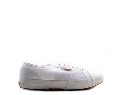 Shoes SUPERGA Man Sneakers BIANCO Fabric S000010-901US