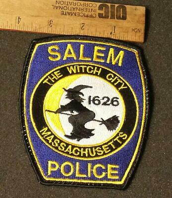 Salem Police OD Green Subdued Collectors Patch only