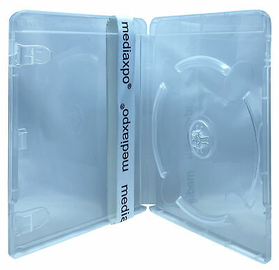 Clear Playstation 3 Replacement Blu-ray Cases 14mm