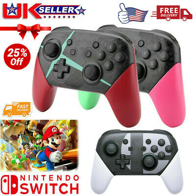Wireless Bluetooth Pro Controller Gamepad Splatoon for Switch