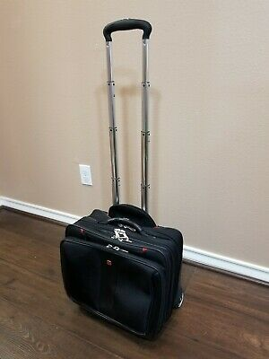 Wenger Swiss Gear Rolling Carry-On Computer Laptop Briefcase Wheeled Bag.