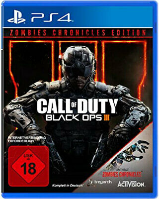 Call of Duty Black Ops 3 Zombies Chronicles Edition Playstation 4 PS4 Neu & OVP