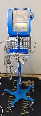 Dinamap Pro 300V2 Patient Monitor Blood Pressure And SpO2  With Stand S4547