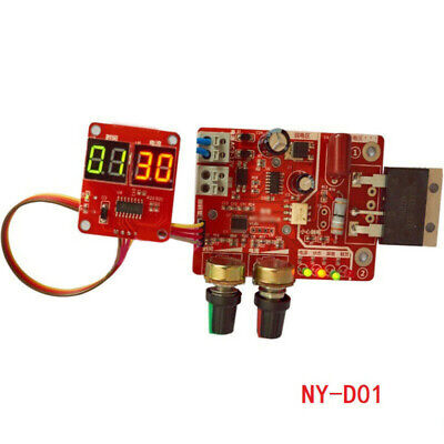 NY-D01 100A Spot Time Point Welder Panel Controller Digital Display Replacement